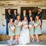 Entire-Bridal-party-at-Stables